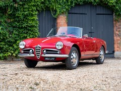 Navigate to Lot 161 - 1957 Alfa Romeo Giulietta Spider