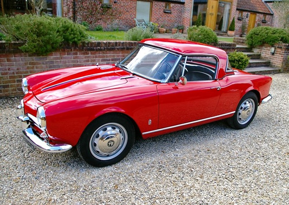 Lot 333 - 1960 Alfa Romeo 101 Series Giulietta Spider