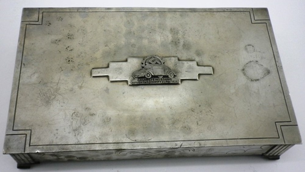 Lot 93 - Volkswagen desk top box.
