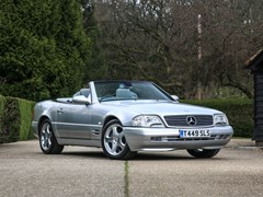 Navigate to Lot 263 - 1999 Mercedes-Benz SL 320 Roadster