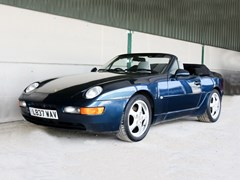 Navigate to Lot 116 - 1993 Porsche 968 Convertible