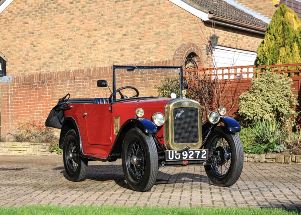 Lot 228 - 1929 Austin 7 AD Tourer