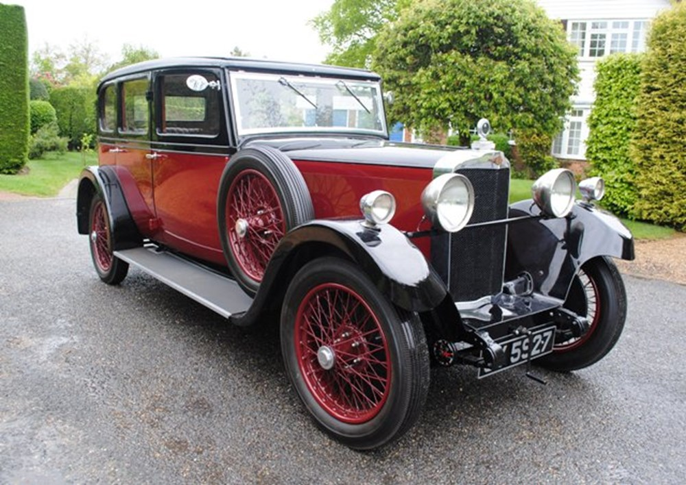 Lot 348 - 1932 Talbot AU14/45 Four-dr Weyman Panelled Saloon by Darracq