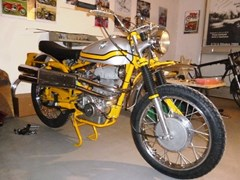 Navigate to Lot 205 - 1974 MV Agusta 350 Scrambler Electronica