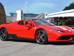 Navigate to Lot 296 - 2015 Ferrari 458 Aperta