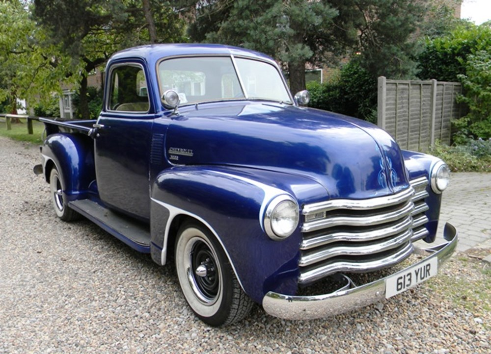 Lot 293 - 1949 Chevrolet 3100 Half-Ton Pick-Up