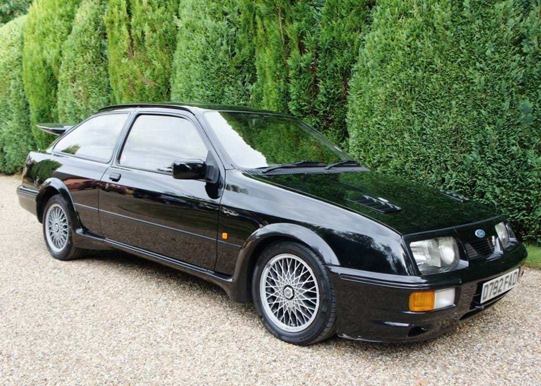 One owner 31 year old ford sierra rs cosworth is the epitome of enjoyment