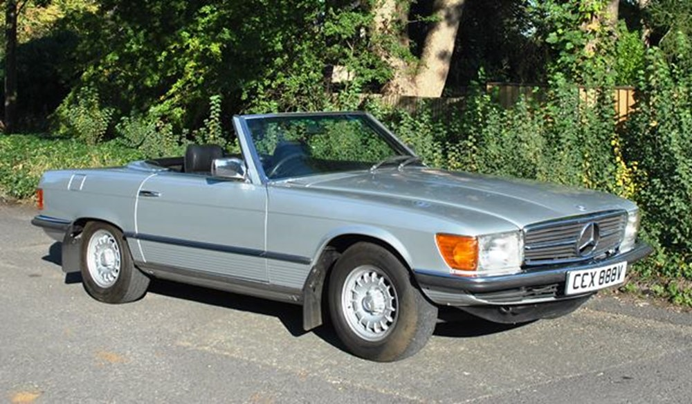 Lot 215 - 1980 Mercedes-Benz 450SL Roadster
