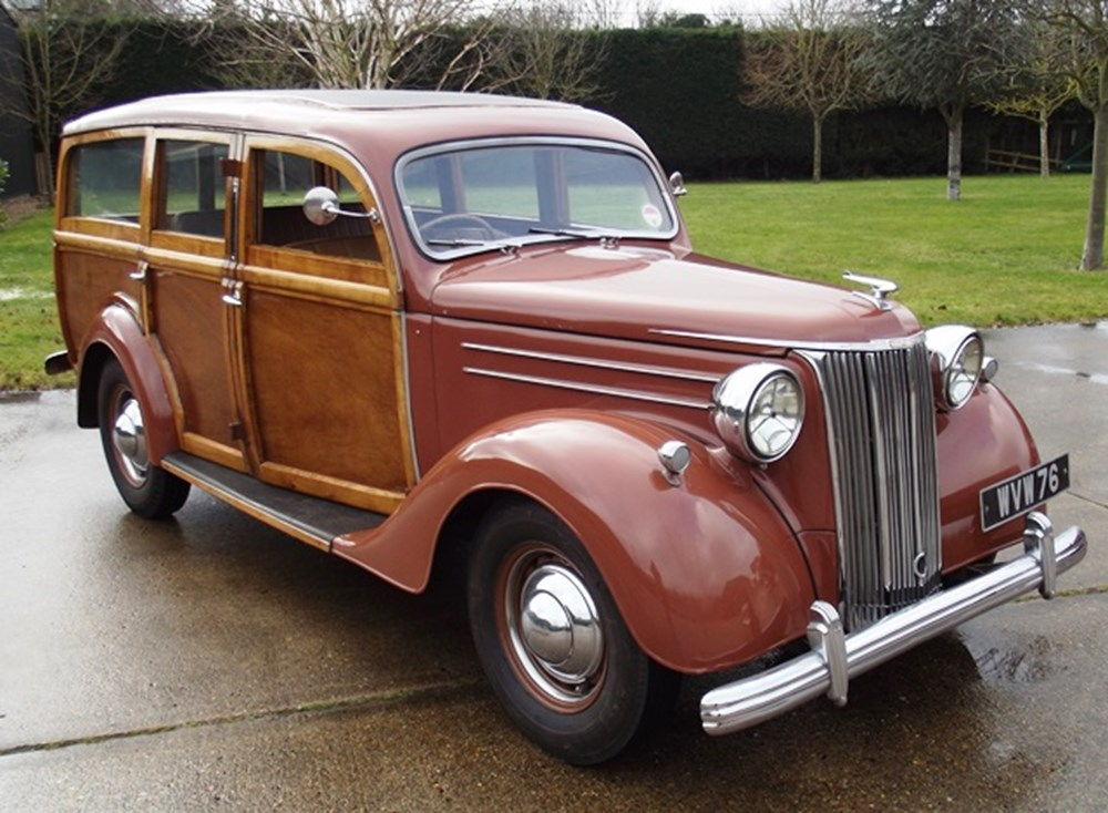 Lot 298 - 1951 Ford V8 Pilot 'Woody'