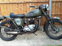 Navigate to Lot 275 - 1966 Triumph 3TA Dutch Army Motorcycle