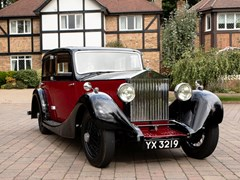 Navigate to Lot 121 - 1928 Rolls-Royce 20hp Saloon