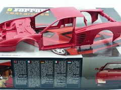 Navigate to A Ferrari Testarossa model kit.