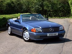Navigate to Lot 215 - 1991 Mercedes-Benz 300-24v SL Roadster