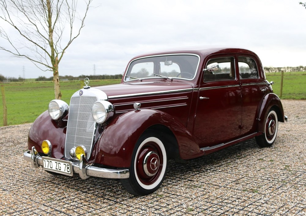 Ref 61 1951 mercedes benz 170 s for Mercedes benz financial phone number