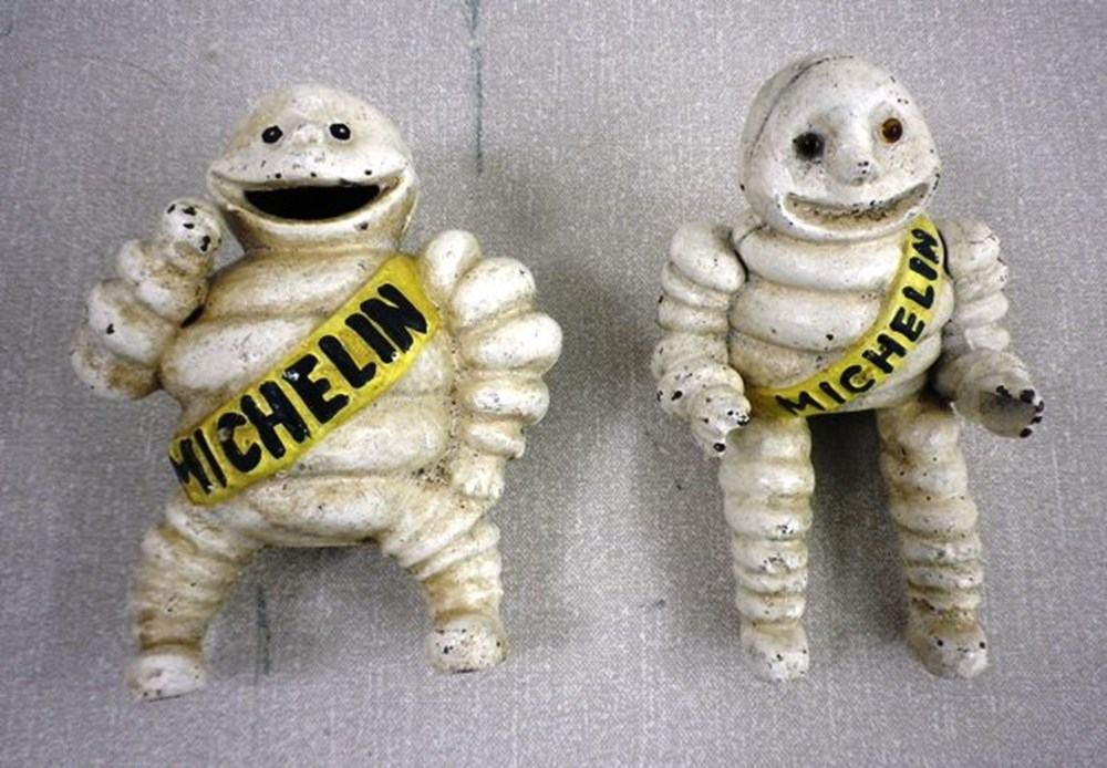 Lot 16 - Michelin men.
