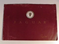 Navigate to Jaguar XK 120 sales brochure
