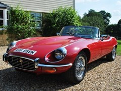 Navigate to Lot 323 - 1973 Jaguar E-Type Series III Roadster