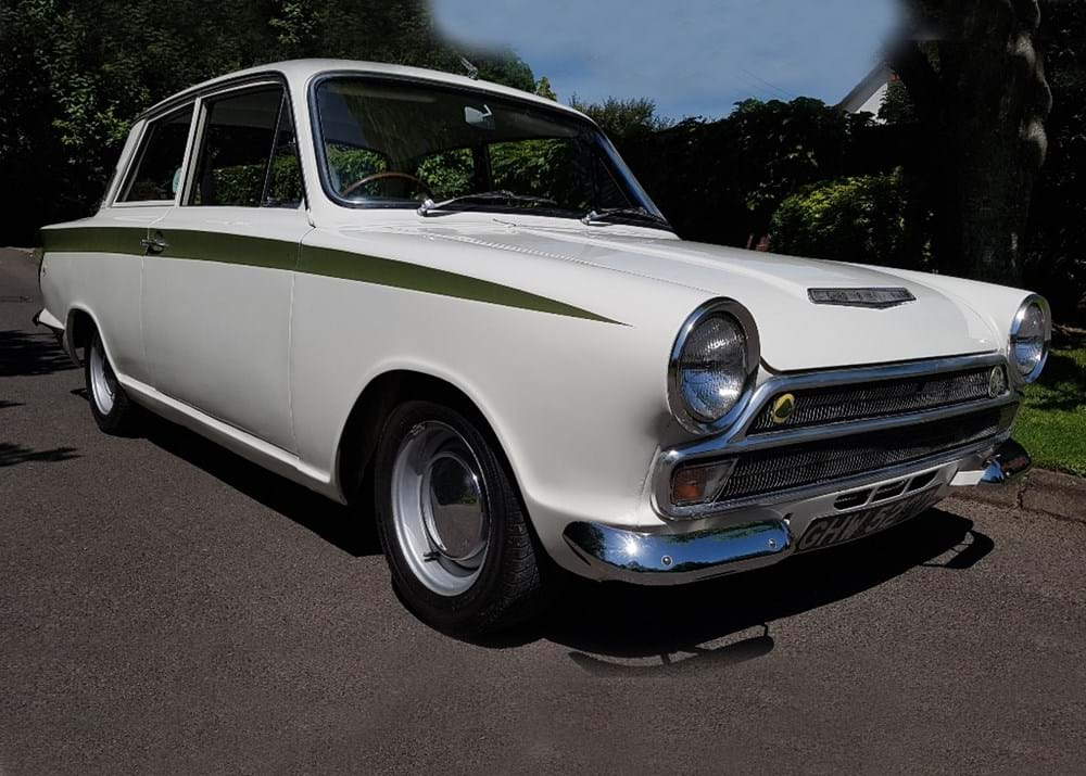 Lot 164 - 1966  Ford Lotus Cortina Mk. I