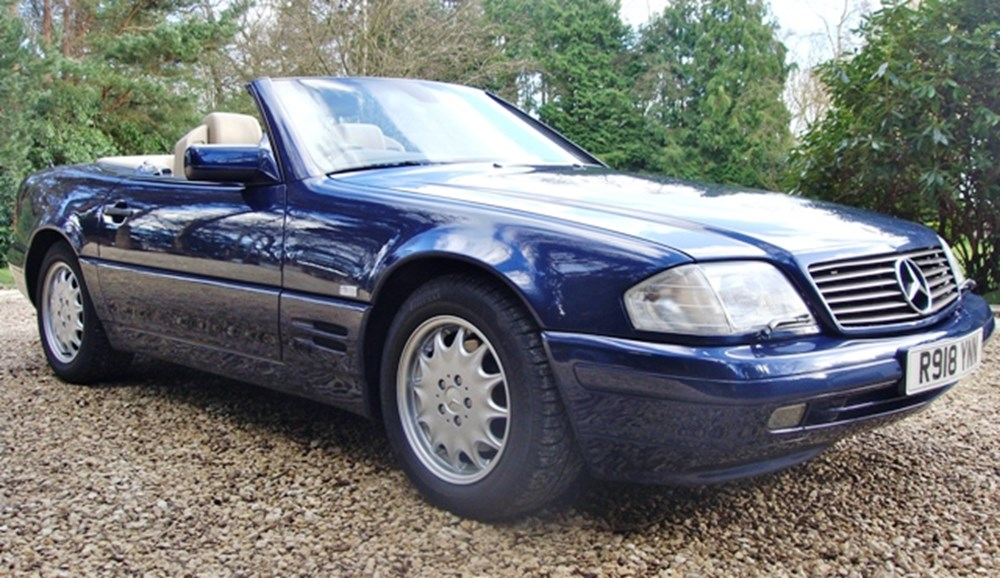 Lot 286 - 1997 12987 SL320 Roadster