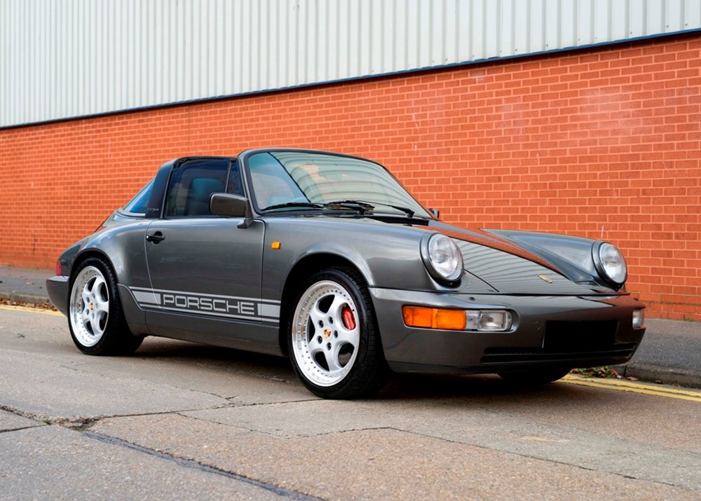 Lot 120 - 1990 Porsche 911 Carrera 2 Targa