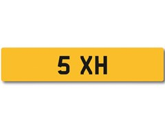Navigate to Lot 102 -   Number Plate 5 XH