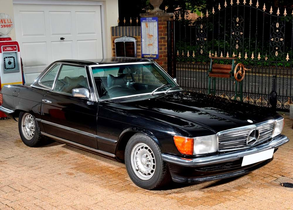 Lot 234 - 1986 Mercedes-Benz SL500 Roadster