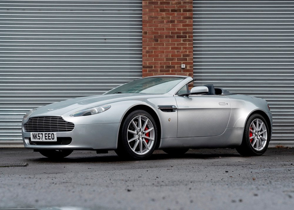 Lot 127 - 2007 Aston Martin V8 Vantage Convertible