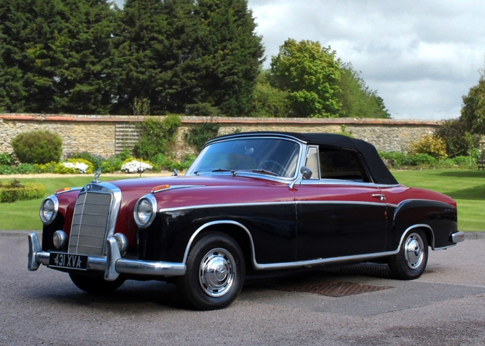 Lot 131 - 1959 Mercedes-Benz 220SE Convertible