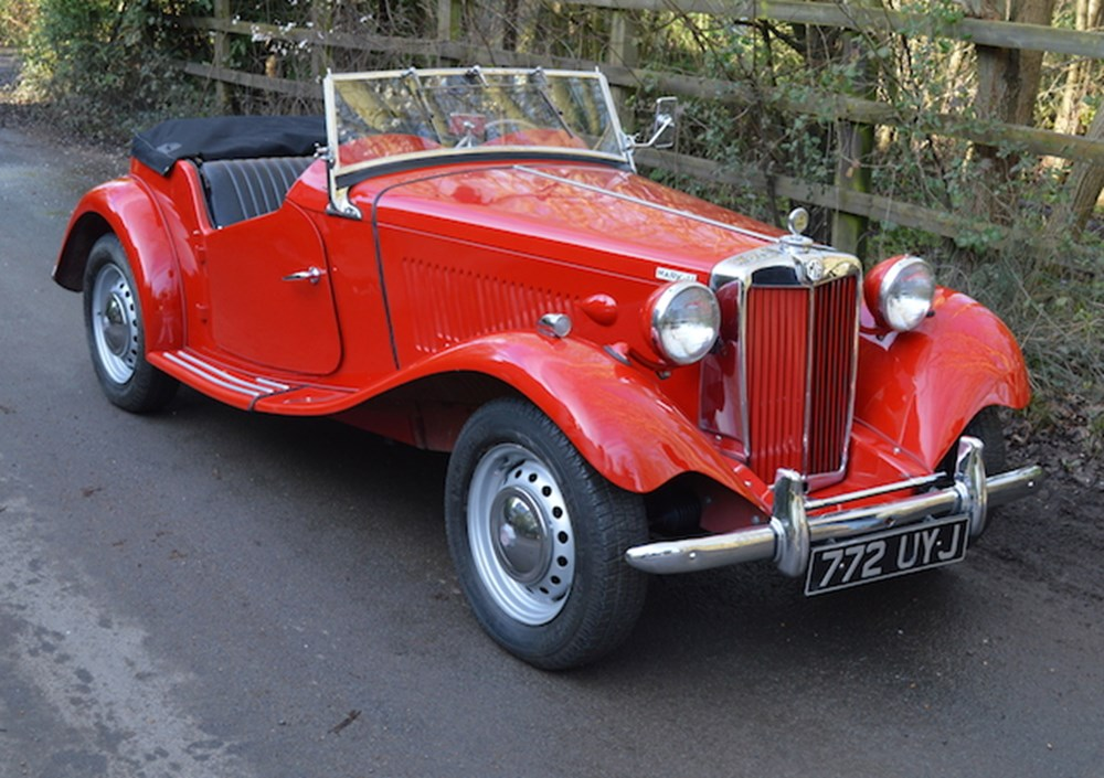 Lot 249 - 1953 MG TDC (Competition) Mk. II
