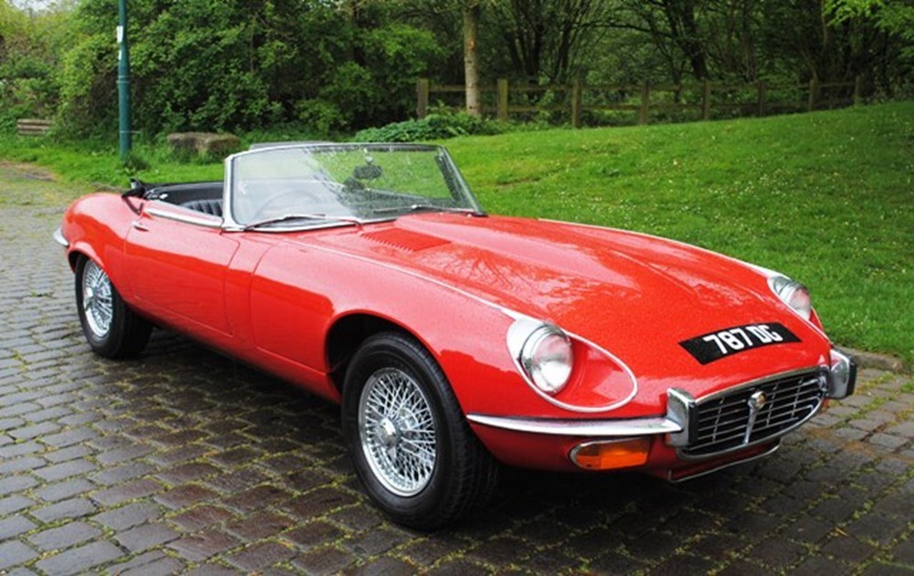 Lot 350 - 1973 Jaguar E-Type Series III Roadster