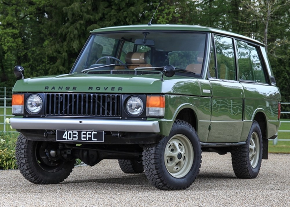 Lot 158 - 1973 Range Rover Suffix B 'Two-door'
