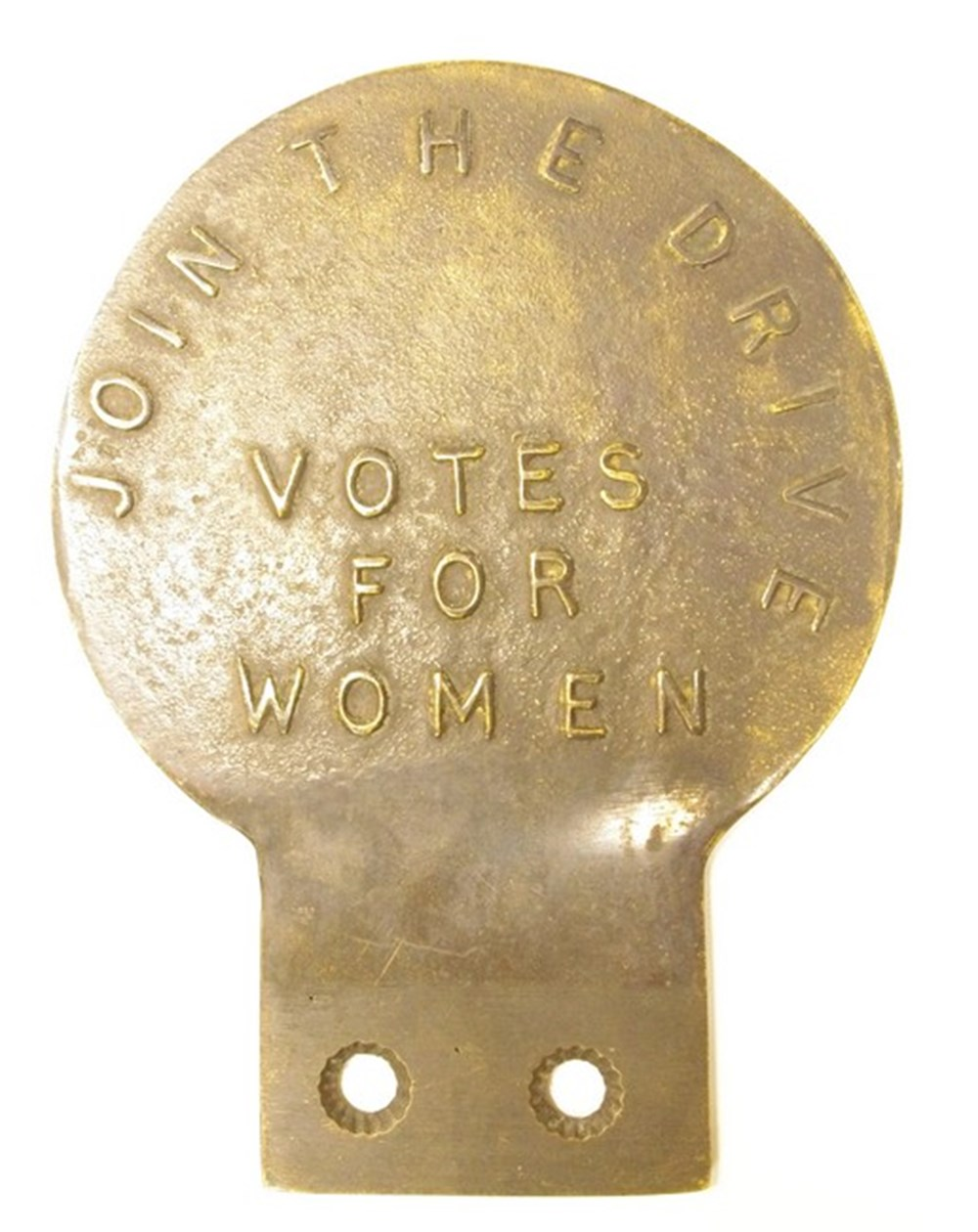 Lot 043 - Suffragettes badge.