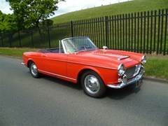 Navigate to Lot 187 - 1962 Fiat 1200 Cabriolet