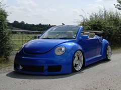 Navigate to Lot 233 - 2004 Volkswagen Beetle Cabriolet Custom