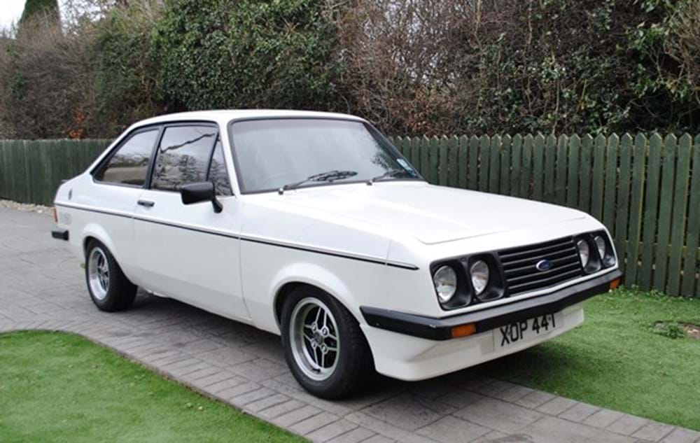Lot 234 - 1979 Ford Escort RS2000 Mk. II