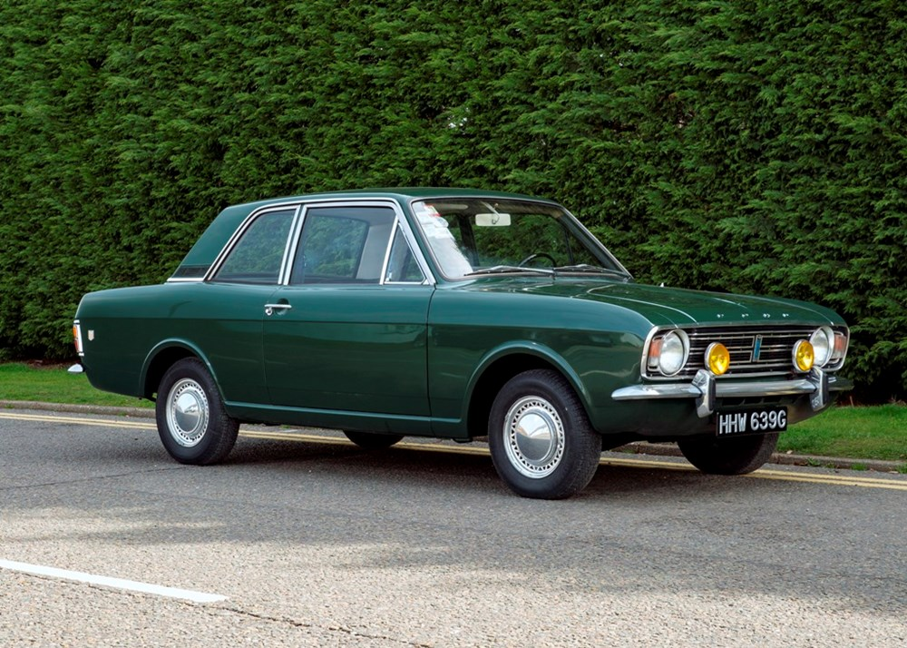 Lot 236 - 1969 Ford Cortina Mk. II 1600GT