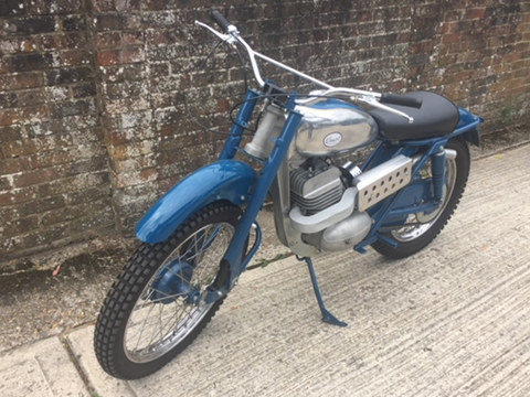 Ref 179 1961 Greeves TS Trials 250
