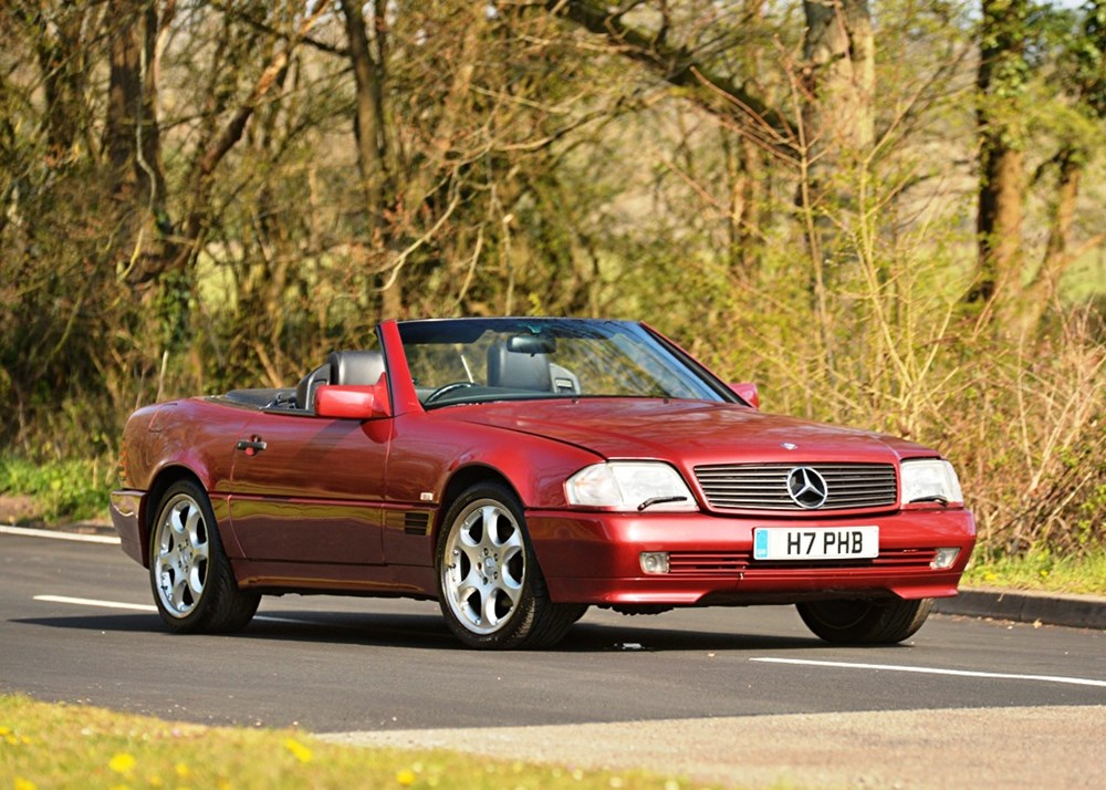 Lot 253 - 1991 Mercedes-Benz 500SL-32 Roadster
