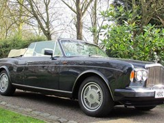 Navigate to Lot 240 - 1990 Bentley Continental Convertible Mk. IV