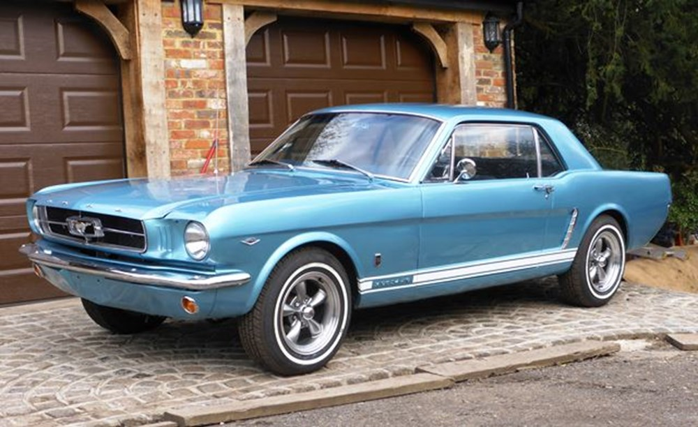 Lot 282 - 1965 Ford Mustang Notchback
