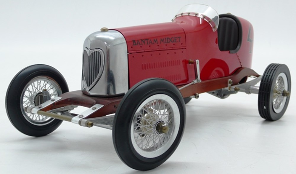 Lot 083 - Tin-plate Bantam racer