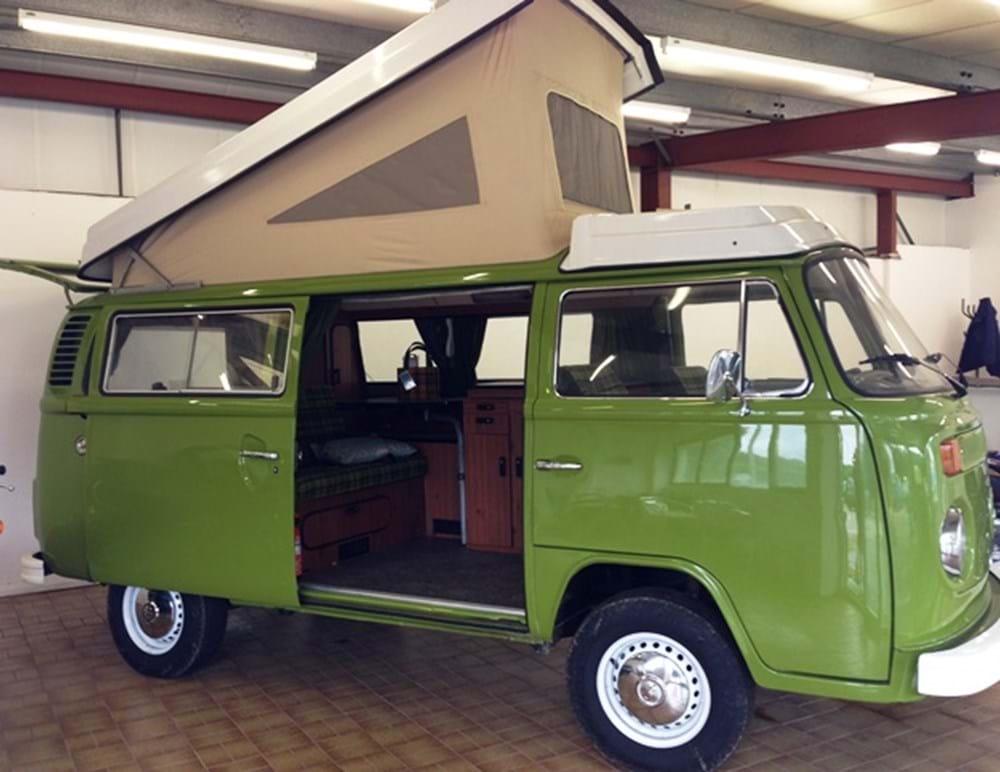 1979 volkswagen camper t2 westfalia. Black Bedroom Furniture Sets. Home Design Ideas