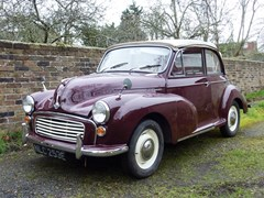 Navigate to Lot 115 - 1967 Morris Minor 1000 Convertible