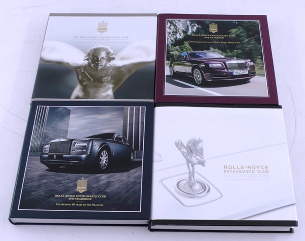 Lot 006 - Rolls-Royce Enthusiasts Club