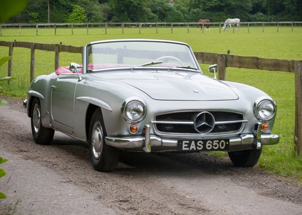 Lot 152 - 1961 Mercedes-Benz 190SL Roadster