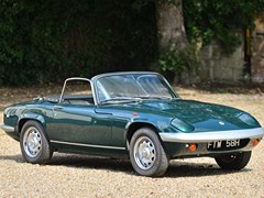 Navigate to Lot 166 - 1969 Lotus Elan S4 Drophead Coupé