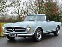 Navigate to Lot 157 - 1969 Mercedes-Benz 280 SL