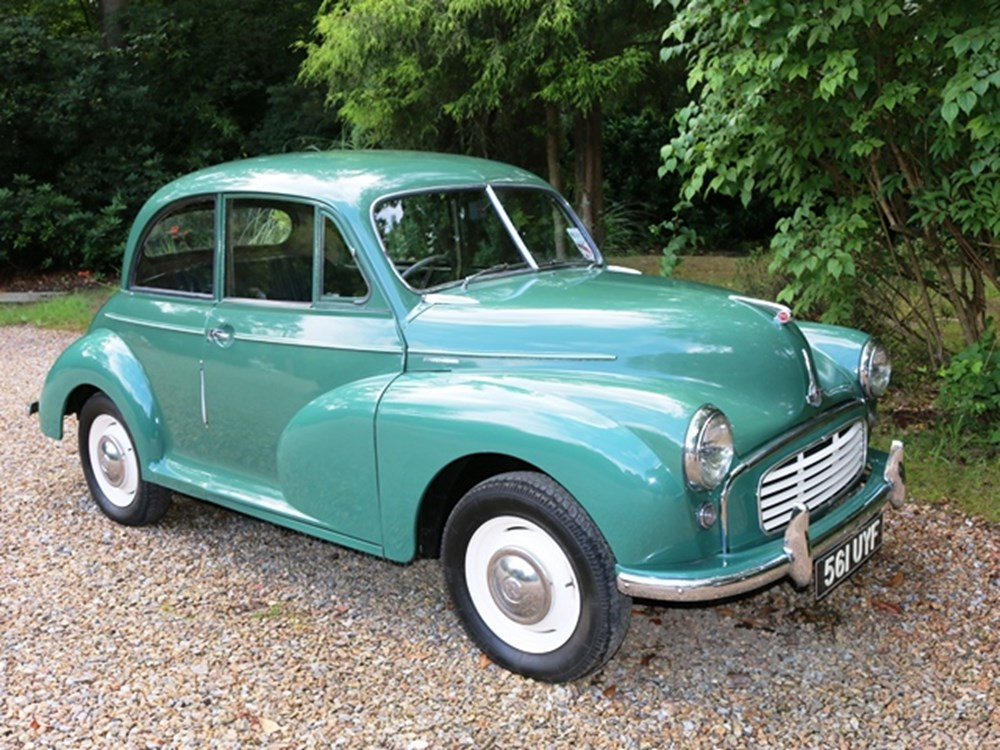Lot 211 - 1954 Morris Minor Two-Door Saloon