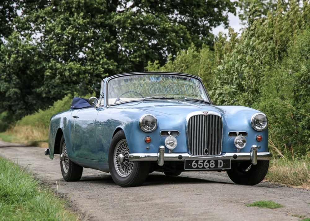 Lot 147 - 1960 Alvis TD21 Drophead Coupé