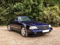 Navigate to Lot 178 - 2000 Mercedes-Benz SL 320 Roadster